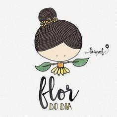 Flor do dia | BiaPOF