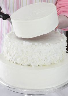 How to make a wedding cake---making for my parents 60th...good luck to me!