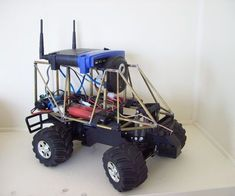 We will be showing you how to build a wifi robot / spybot from scratch. It is a very straight forward project and can easily be handled by a intermediate robot builder. To complete the robot, it will take a couple of hours.Video of complete robot driving:http://www.youtube.com/watch?v=Ieb4zxwHs5kItems Needed:1-Rc Car (new or used, choose one that could easily have a Rc servo fitted in the steering system. We got ours from Radio Shack.)1-Barracuda wifi robot controller…
