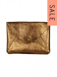 Custommade Wally Clutch Bag in Copper was £86 NOW £60.20