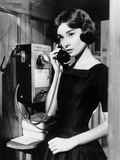 Love in the Afternoon, Audrey Hepburn, 1957 Photo - AllPosters.co.uk