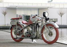 Opel 500cc 1928  designed by Ernst Neumann-Neander