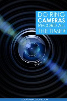 """Recently, a friend of ours asked, do Ring cameras record all the time? There were rumors announced in 2019 that Ring will release a """"24/7 recording feature"""" with the Ring Protect Plus Plan for """"some"""" products, but... #smarthome #securitycamera #homesecurity #ring #ringcameras Smart Home Security, Security Camera, Cameras, How To Plan, Rings, Products, Backup Camera, Spy Cam, Camera"""