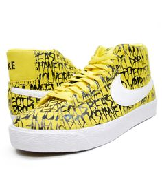 NIKE (ナイキ) BLAZER SB PREMIUM スニーカー TOUR YELLOW/WHITE-BLACK 603639-710