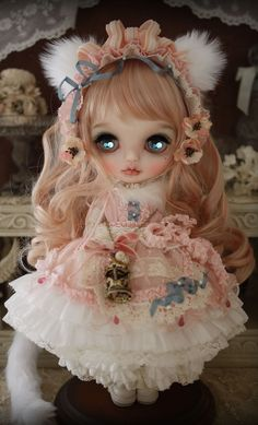 #Blythe design by Milk Tea