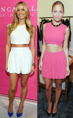 20 Crop Top Outfit Ideas-Look Like a Celebrity In these Outfits