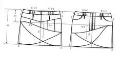 skirt  H92  W74 L40