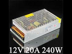Reparacion fuente de alimentacion 240W para tiras de LED