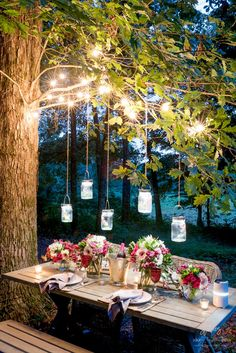 Welcome Warmer Weather With These Patio String Light Ideas - Outdoor Lighting - Ideas of Outdoor Lighting - 25 Patio String Light Ideas for a Summer-Ready Backyard Backyard Party Lighting, Backyard String Lights, Outdoor Lighting, String Lighting, Lights In Garden, Garden Lighting Ideas, Diy Party Lighting Ideas, Outside Lighting Ideas, Club Lighting