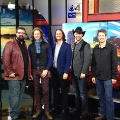 Had a great time performing on #WCCO this morning. Come on out to our show tonight at 730PM at the Fitzgerald theater in St.Paul! Home Free Music, Home Free Band, Home Free Vocal Band, Country Bands, Country Music, Pentatonix, Beautiful Voice, Music Bands, Country Girls