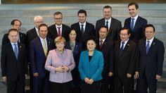 Angela Merkel y Liu Yandong sellan un acuerdo que cambiará la historia del fútbol