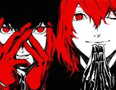 Artist: Rokuro Saito | Shin Megami Tensei: Persona 5 | Akechi Goro | Joker | Kurusu Akira