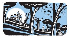 """From """"Who Could That Be At This Hour"""" by Lemony Snicket, illustrations by Seth."""