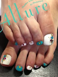 Can I say I'm so excited for my spring and summer pedi clients to come and get awesome art!!!!