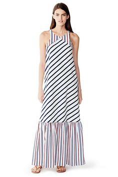 d461460b4c06 Women s Maxi Cover-up Dress from Lands  End Spring Summer 2016