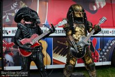 """""""Party on, Alien!"""" """"Party on, Predator!"""" Photo by Max Evans-Kirkman Photography & Media"""