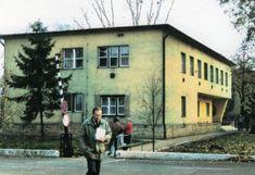 A parancsnoki épület egykor