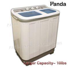 Panda Small Compact Portable Washing Machine(10lbs Capacity)XPB45  Larger  Size Panda Http