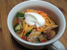 Dukan Diet Recipe Salsa Verde Chicken Stew