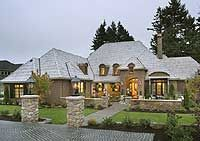 Plan W69460AM: Luxury, Premium Collection, French Country, Corner Lot, European, Photo Gallery House Plans & Home Designs