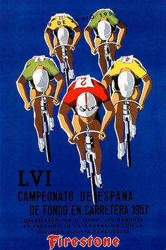 Bicycle Race - Vintage Promotion PosterQuality Poster Prints Printed in the USA on heavy stock paper Crisp vibrant color image that is resistant to fading Standard size print, ready for framing Perfect for your home, office, or a gift Velo Vintage, Vintage Cycles, Vintage Art, Vintage Graphic, Vintage Bikes, Vintage Prints, Gravure Illustration, Bike Poster, Bicycle Race
