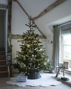 Атмосфера праздников в английском стиле | Пуфик - блог о дизайне интерьера