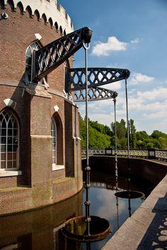 Stoomgemaal Cruquius, Haarlemmermeer, Noord-Holland.