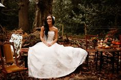 whimsical woodland wedding inspiration