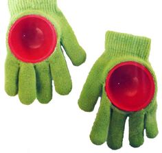 Snowball gloves: cool