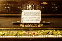 """Saatchi Art Artist: Florin Emil Ghebosu; Color 2012 Photography """"Memories of Childhood - At the Piano"""""""
