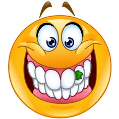 Food stuck in teeth emoticon. Smiling emoticon with food stuck between its teeth, something in its teeth royalty free illustration Funny Emoji Faces, Emoticon Faces, Funny Emoticons, Smiley Faces, Animated Emoticons, Emoji Images, Emoji Pictures, Funny Pictures, Smiley T Shirt