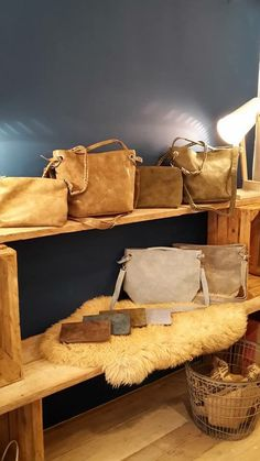 Nice leather bags!