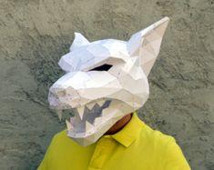 Make Your Own Lion Mask.  Lion Mask  Lion Costume  animla