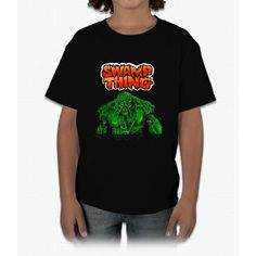 Swamp Thing (Nes) Title Screen Young T-Shirt