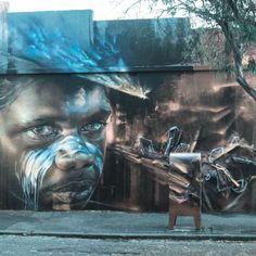 Street Art. A brand new Adnate.
