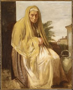 Old Italian Woman, Edgar Degas