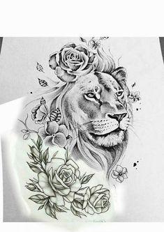 lower back tattoos for women - My list of best tattoo models Lion Back Tattoo, Girl Back Tattoos, Back Tattoo Women, Tattoo Girls, Lower Back Tattoos, Tattoos For Women, Lion Tattoo On Thigh, Leo Tattoos, Animal Tattoos