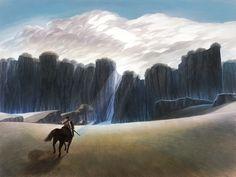 Shadow of the Colossus Shadow Of The Colossus, Wander, Painting, Outdoor, Outdoors, Painting Art, Paintings, Outdoor Games, Painted Canvas