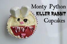 monty python rabbit | Monty Python Killer Rabbit Cupcakes Tutorial
