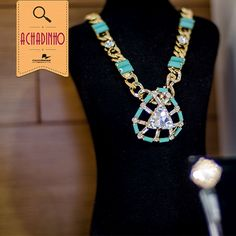 Esse colar da Morana Acessórios merece toda nossa atenção!   A coleção de verão da marca veio com muita cor e maxi colares. Amamos!