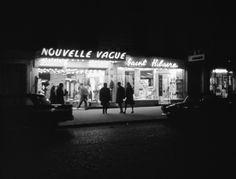BANDE À PART Scène clin d'œil du film de Jean-Luc Godard près de Pigalle (1964)