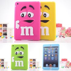 M&M's Silicone Case For iPad Mini 2 //Price: $14.22 & FREE Shipping //     #case.deals#iphone case#smartphone cases
