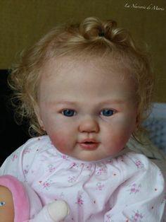 reborn doll ,baby, toddler, girl,Prototype, OOAK, Romee Sandy Faber