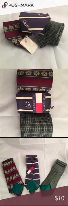 Tommy Hilfiger Ties ( Lot of #3 ) Tommy Hilfiger Tommy Hilfiger Accessories Ties