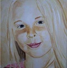 Blonde Portrait    Shannon Knopke Fine Art