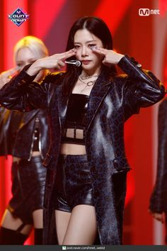 Kpop Girl Groups, Korean Girl Groups, Kpop Girls, Kim Min Ji, Jiu Dreamcatcher, Metal Girl, Stage Outfits, Pop Group, South Korean Girls