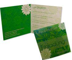 Hochzeitseinladung+-+Stilvoll+-+Eegant+-+Frisch...