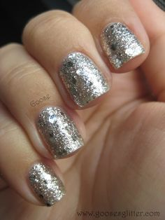 OPI - Crown Me Already. I just layered this onto my nails. Going gaudy tomorrow for work!