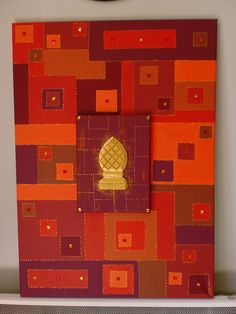 tableau en acrylique couleur or même schéma que pour l'argenté de ... - Difference Peinture Glycero Et Acrylique