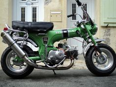 Honda CT70 Dax - Slightly customised. Green